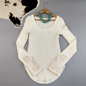 Free People M Masquerade top Thermal Cuff